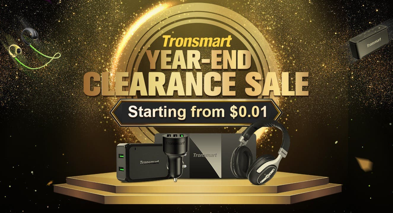 Tronsmart Year-End Clearance Sale