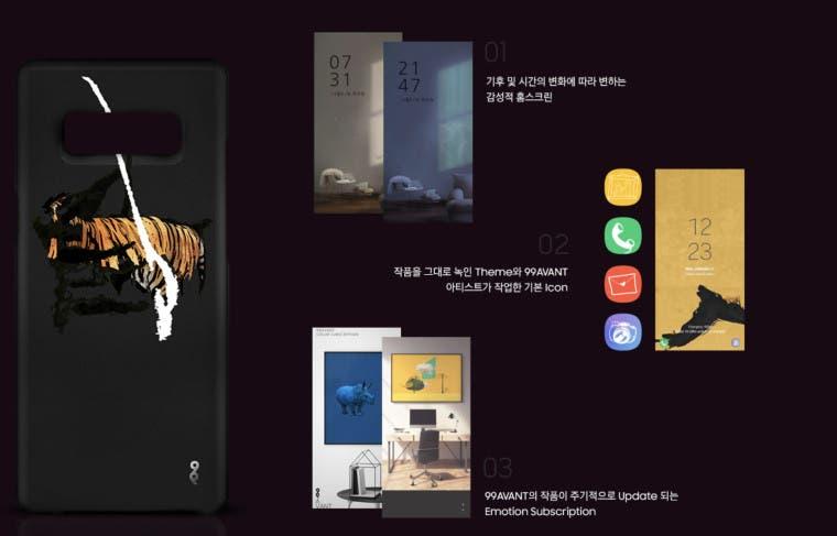 Samsung Galaxy Note 8 X 99 Avant Limited Edition