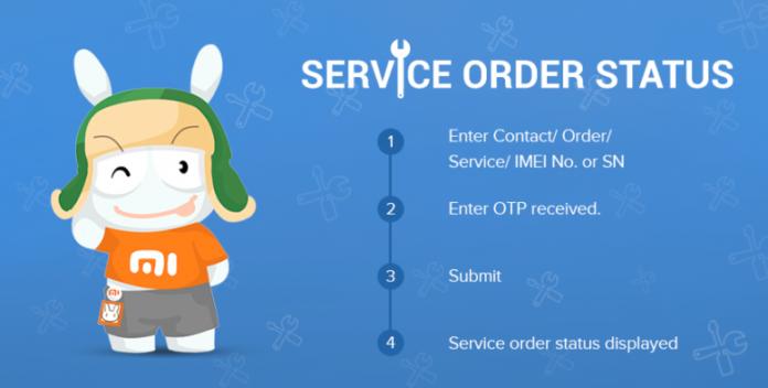 Mi Service Order Status