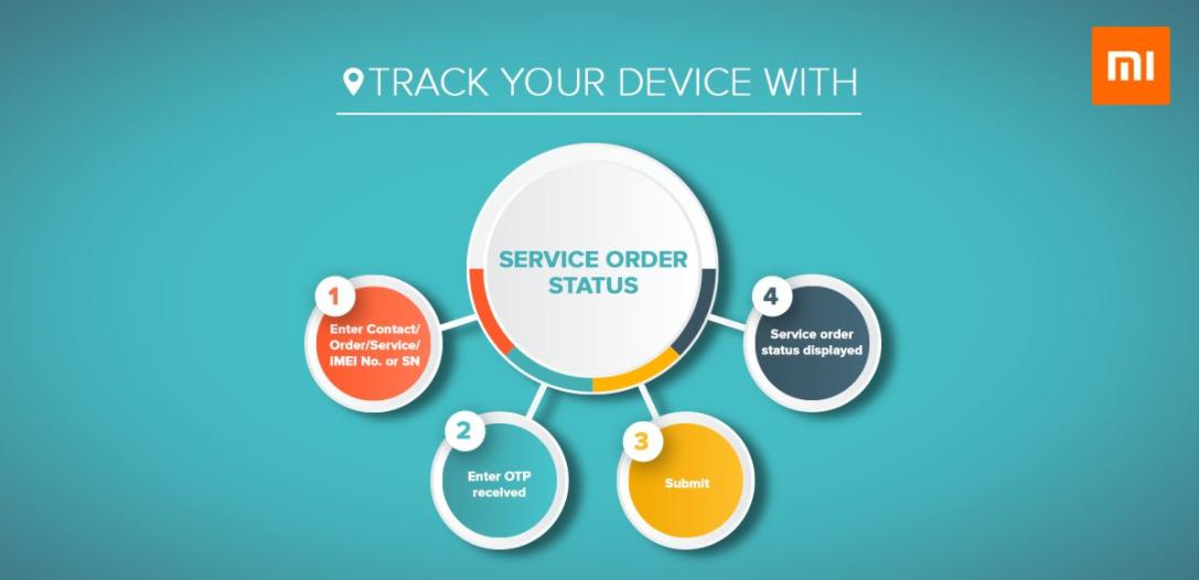 mi live repair status service
