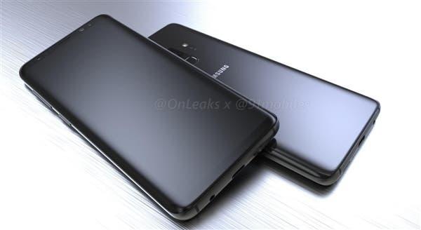 Samsung Galaxy S9 renders