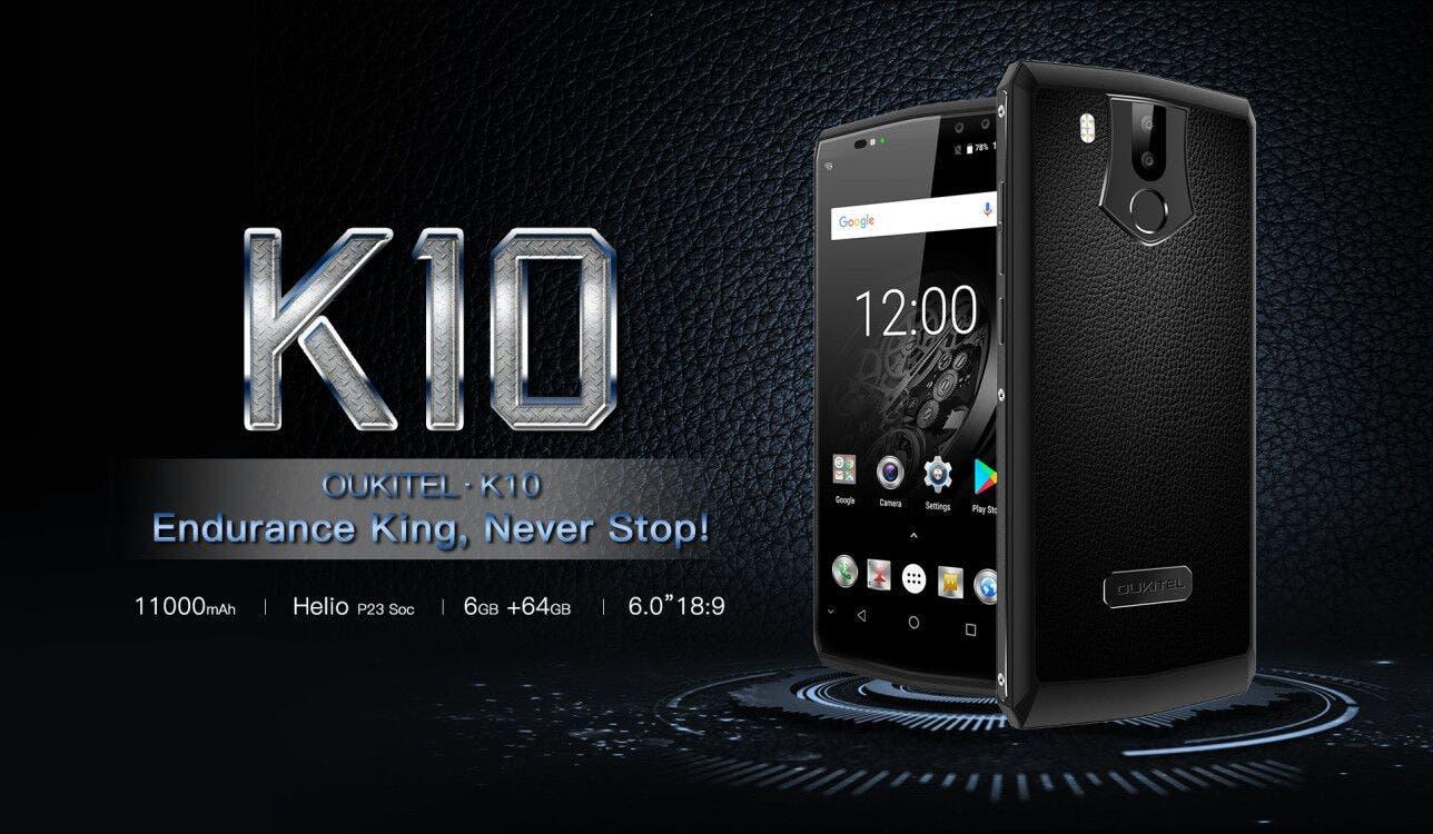 Oukitel K10