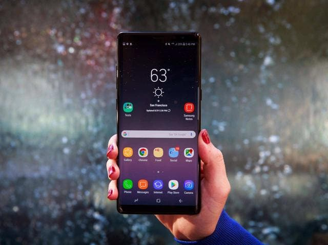 Smaung Galaxy Note 9