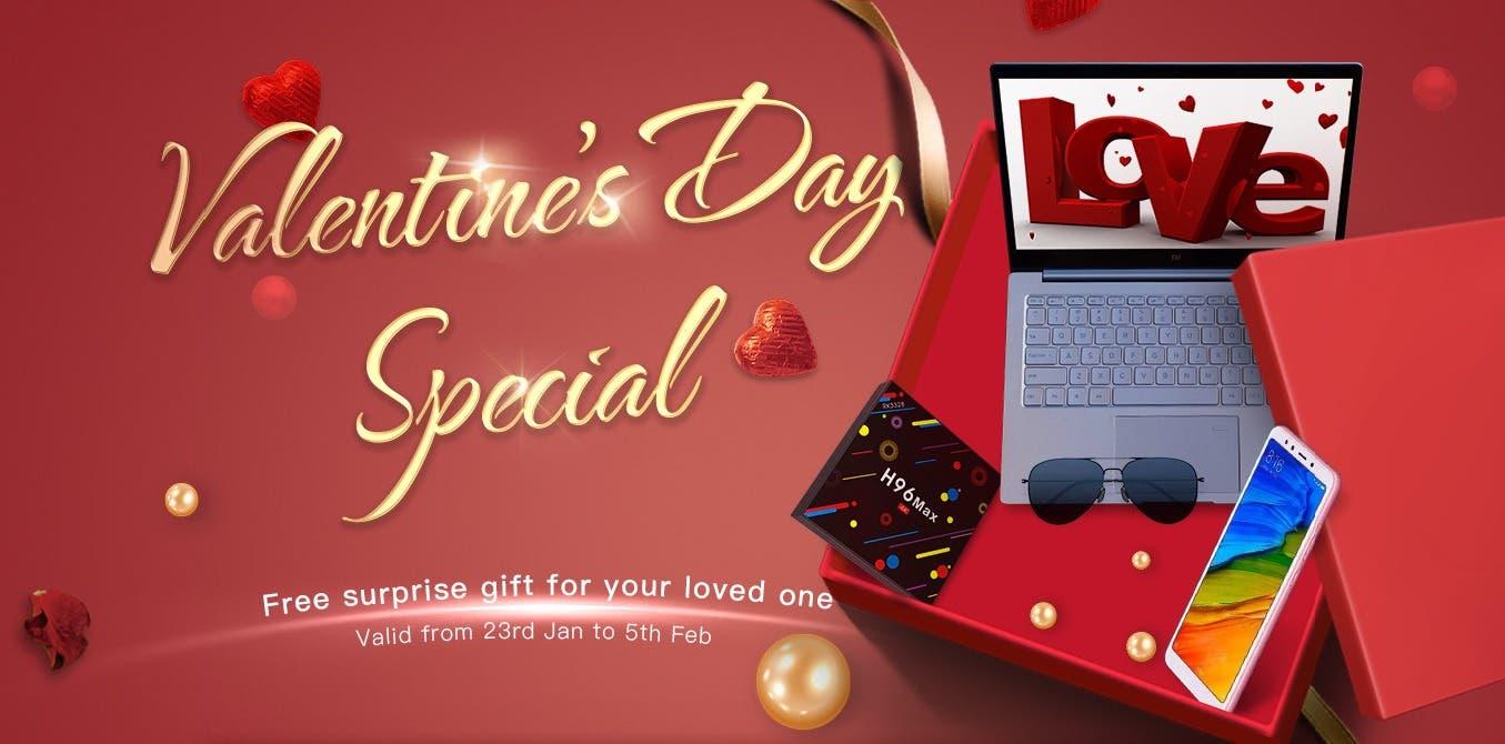 Geekbuying Valentine's Day