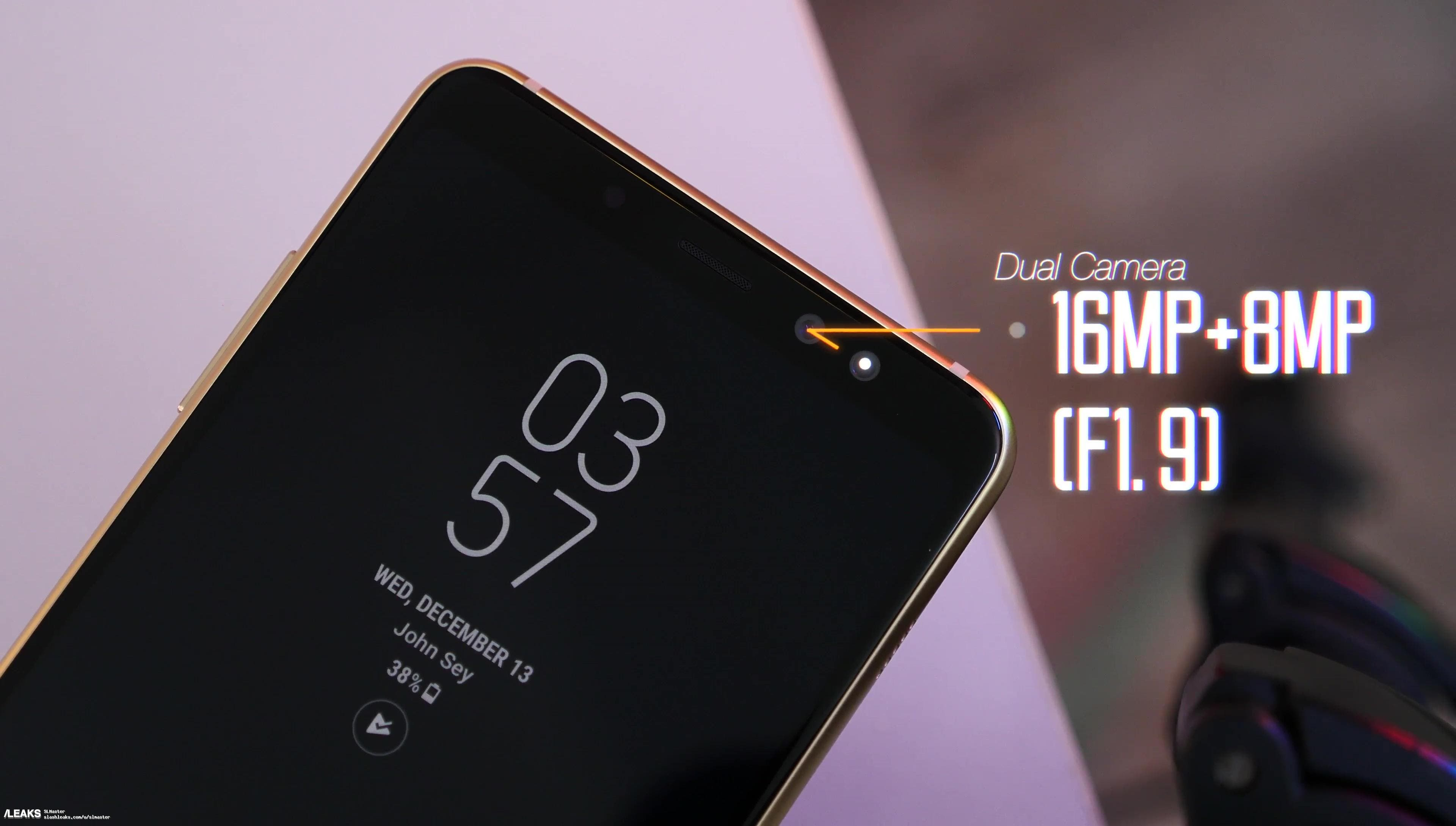 Galaxy A8 + (2018)