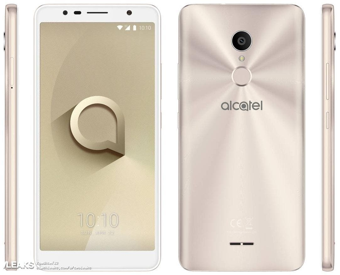 Alcatel 3C Press leak