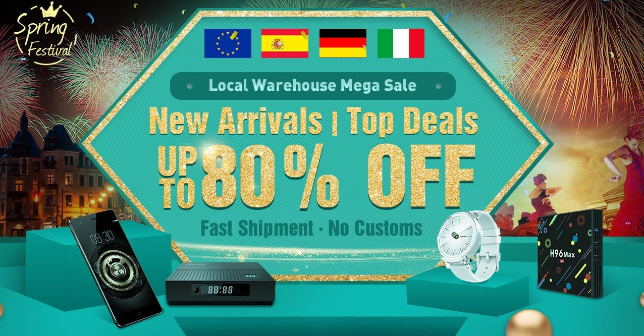 Geekbuying's Local Warehouse Mega Sale
