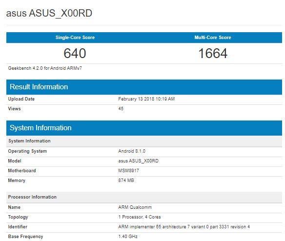 Asus X00RD