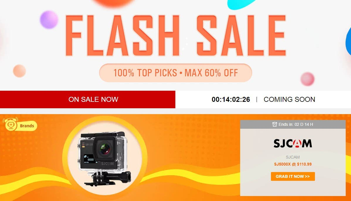 Crazy Flash Sale