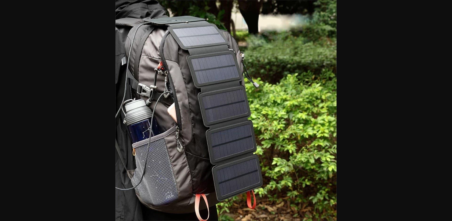 Five Solar Panel Mobile Folding Bags