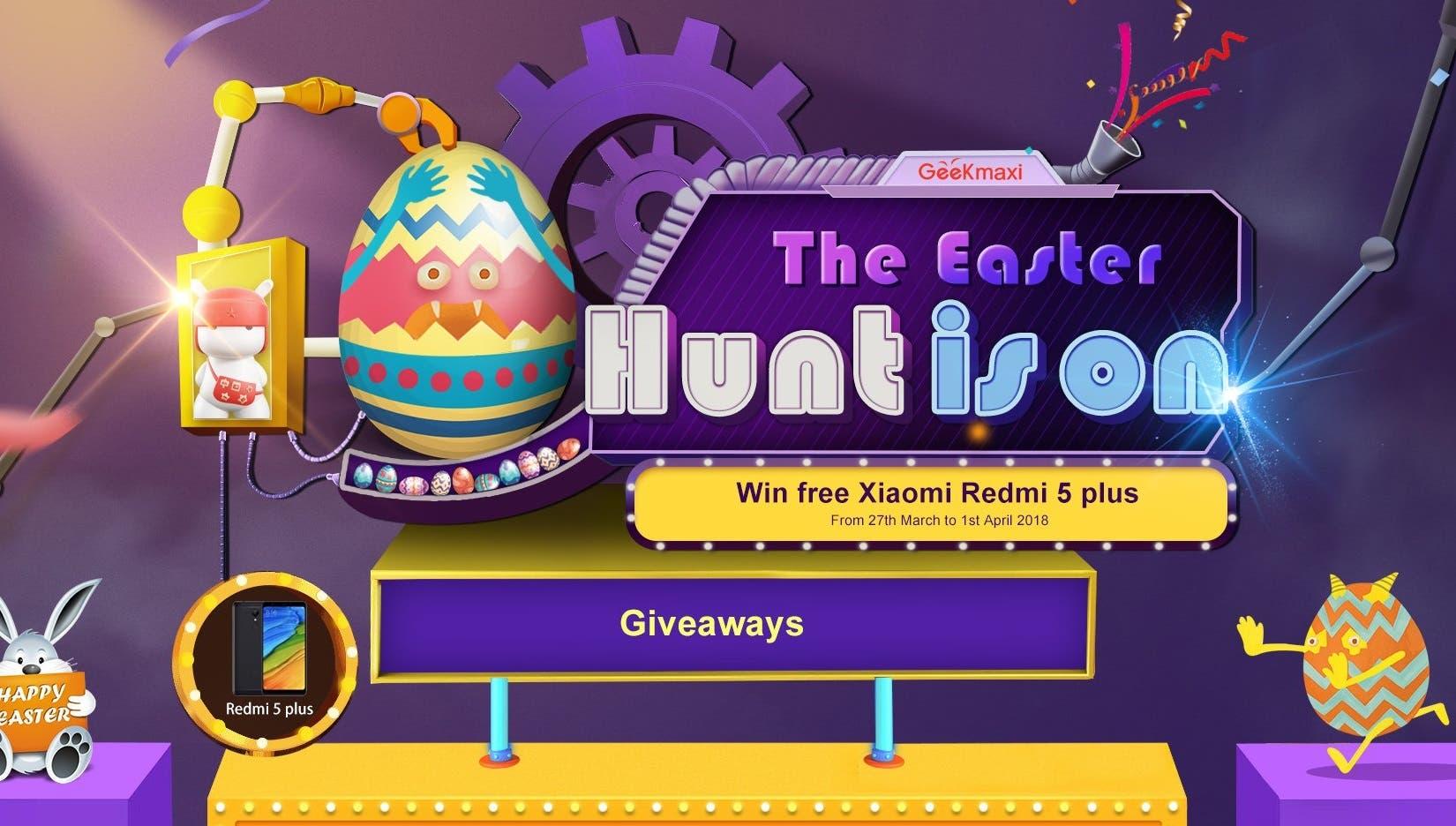 Geekmaxi's Easter Hunt