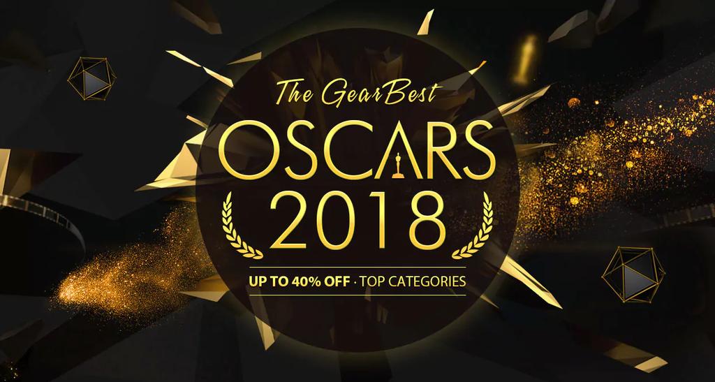 Gearbest Oscars 2018
