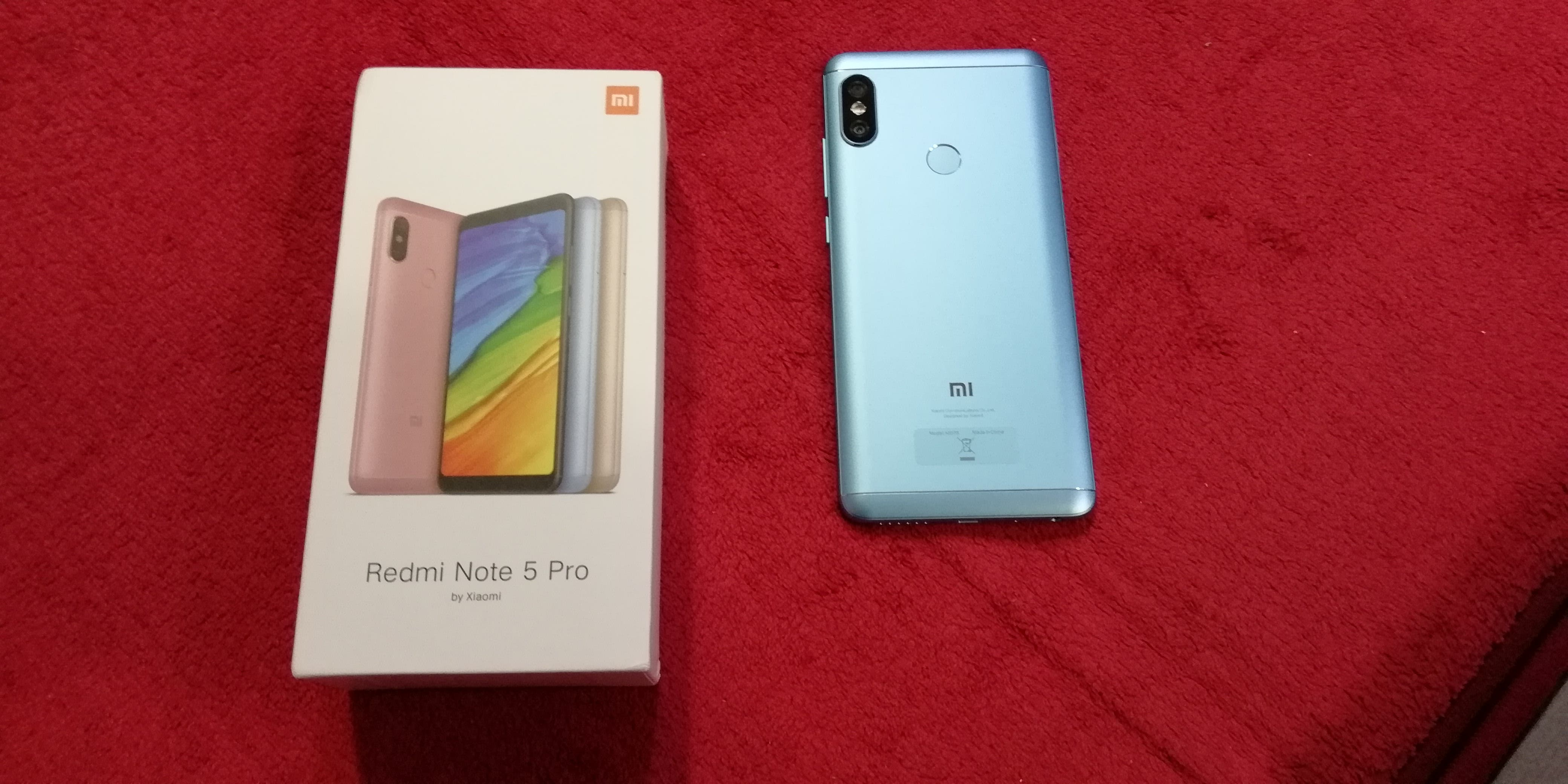 Redmi Note 5 Pro: Unboxing