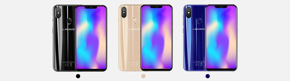 Three Color Variants for LEAGOO S9