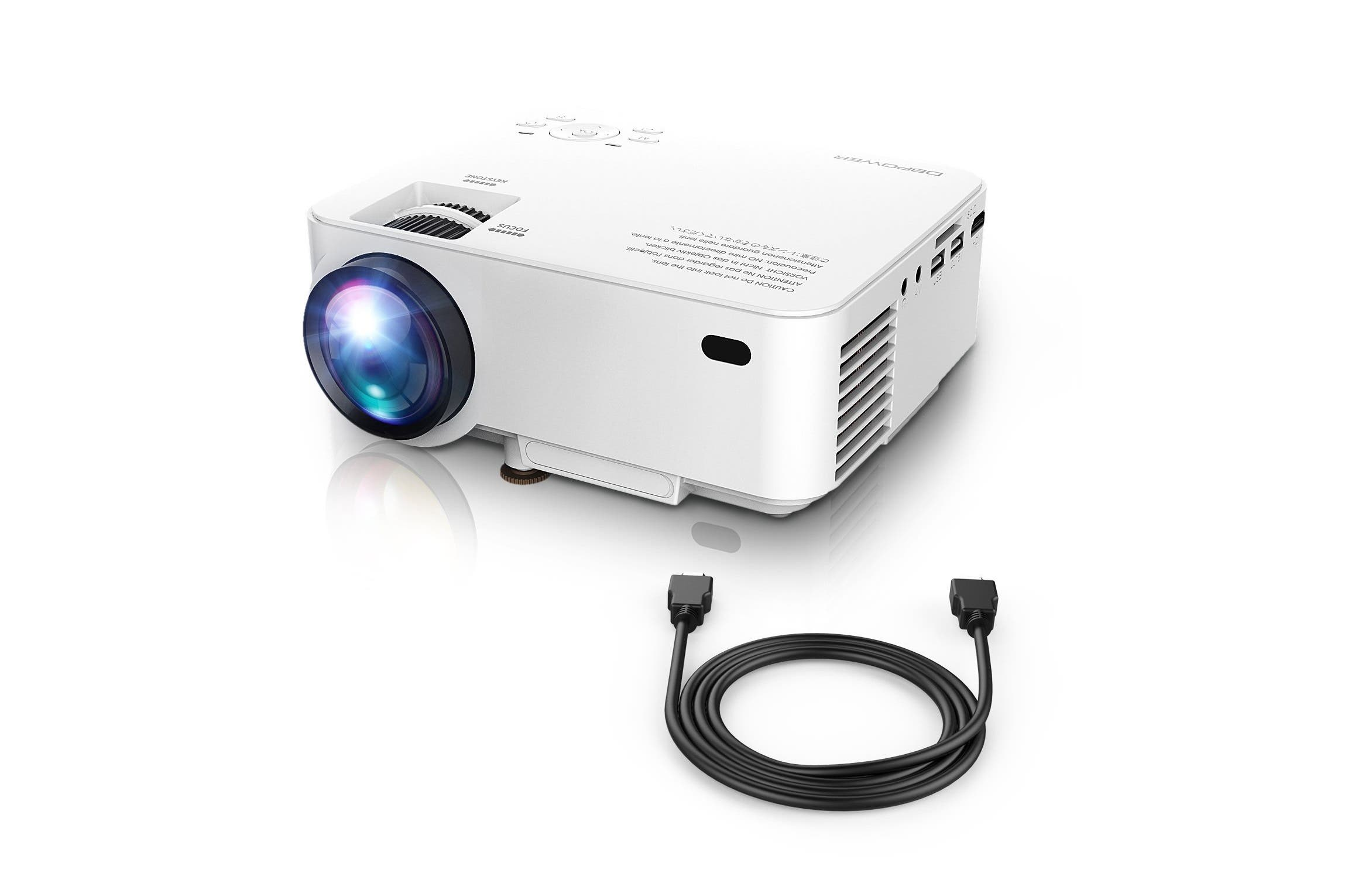 DBPOWER Portable Projector