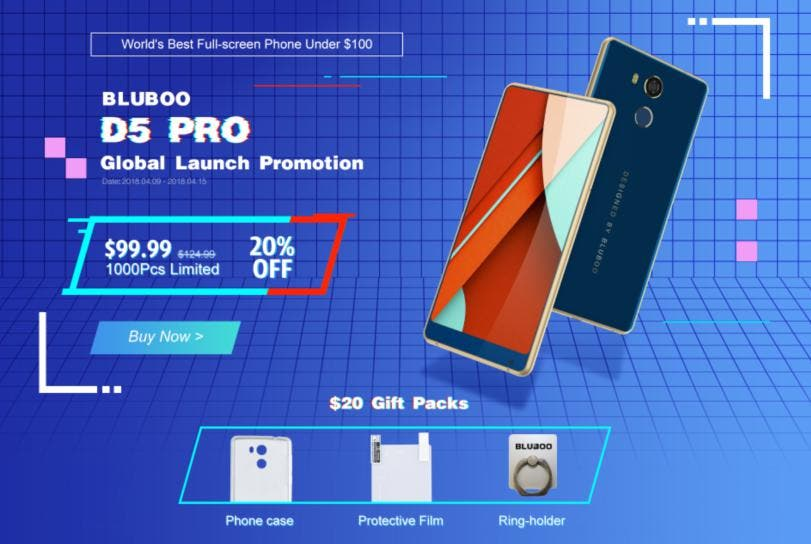 Bluboo D5 Pro