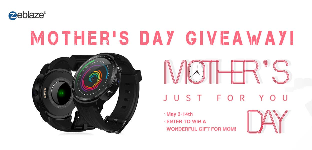 Zeblaze Mother's Day Giveaway