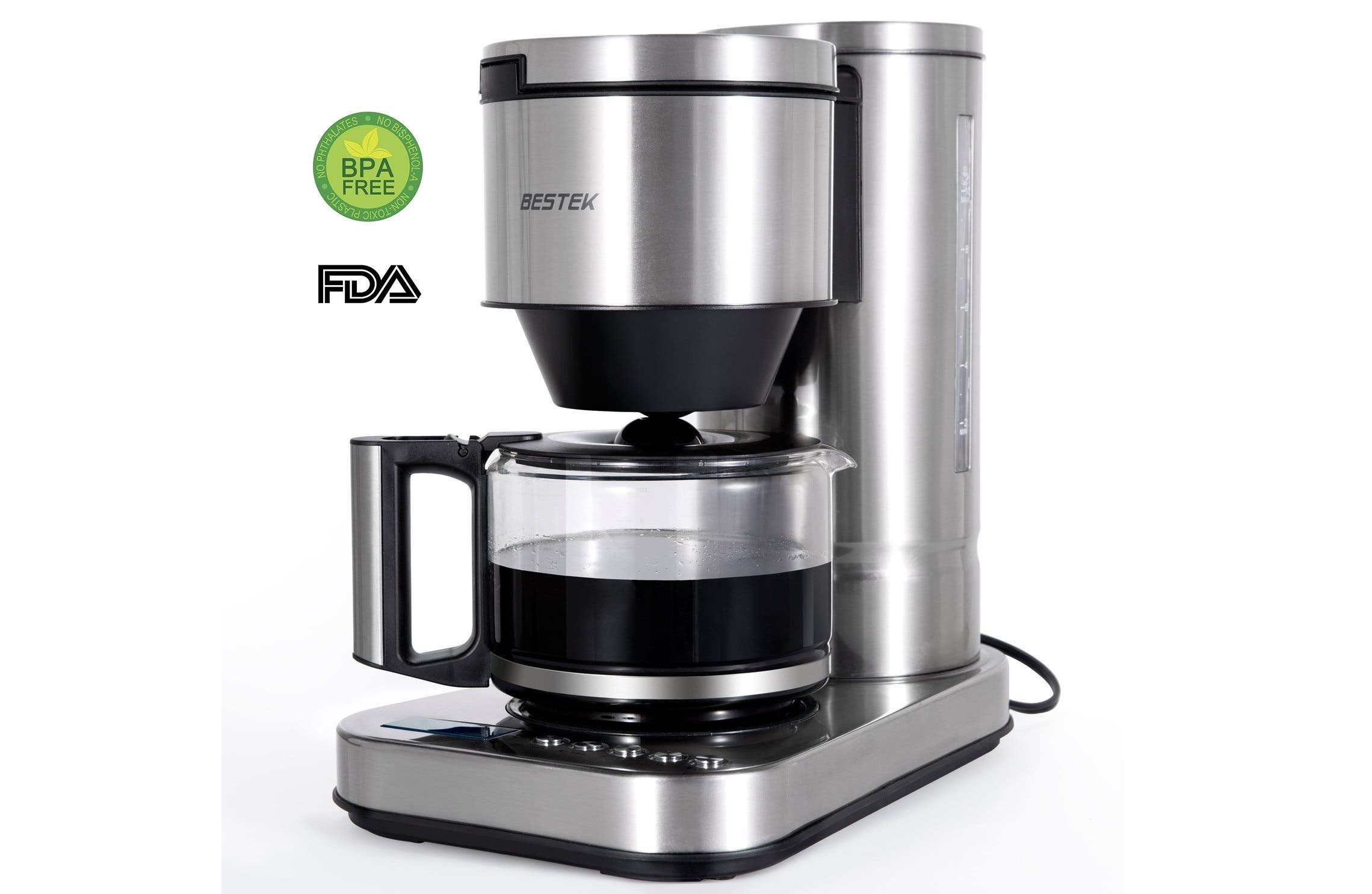 BESTEK 10-cup Coffee Maker