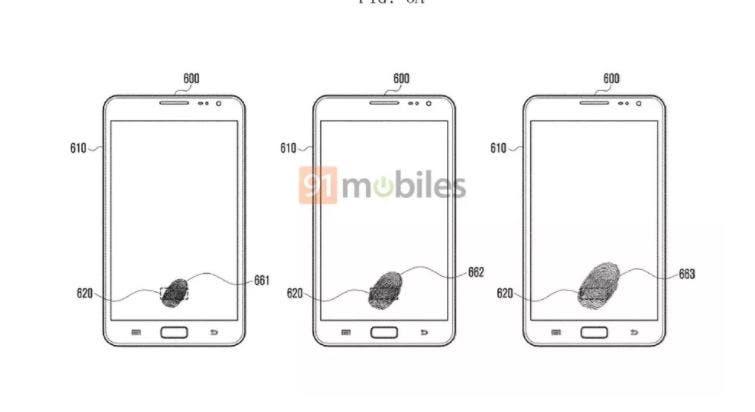 Samsung Under-display scanner