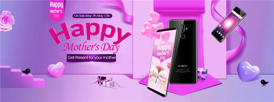 Cubot Mother's Day