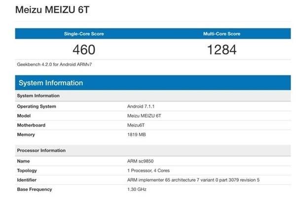 Meizu M6T