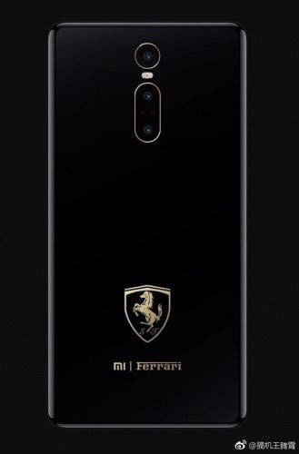 Xiaomi Mi MIX 3 Ferrari Edition