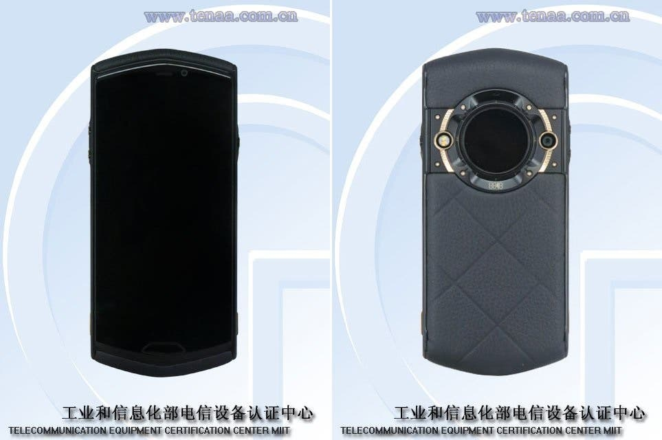8848 M5 Titanium Mobile Phone: A Small Back Screen