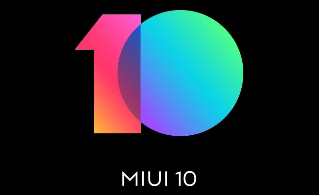 Xaiomi miui 10