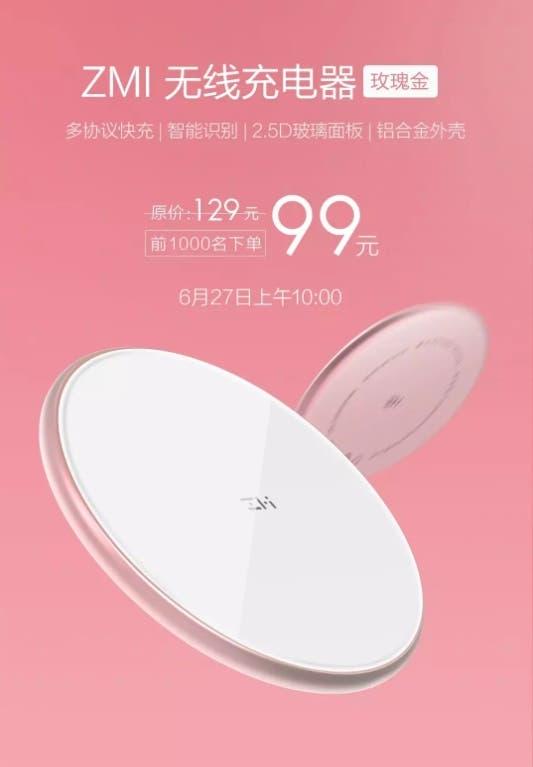 ZMI wireless charger