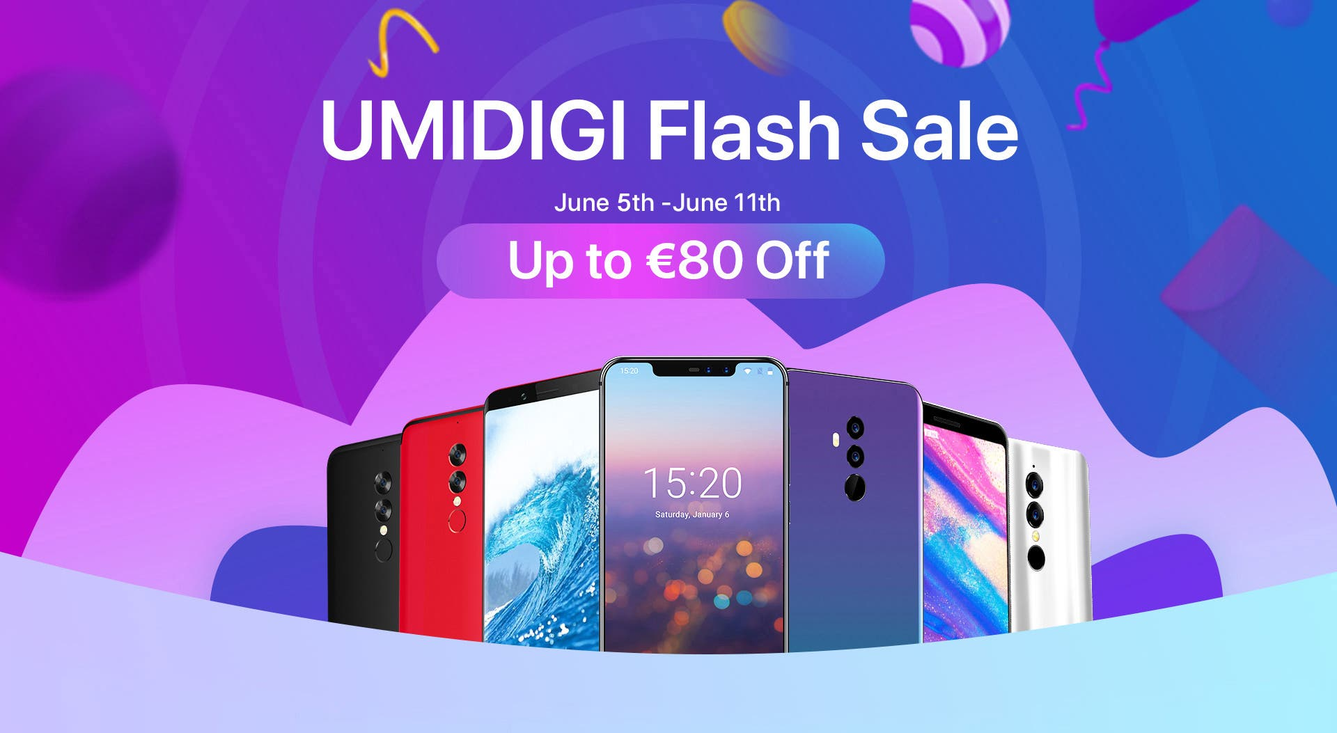 UMIDIGI Flash Sale