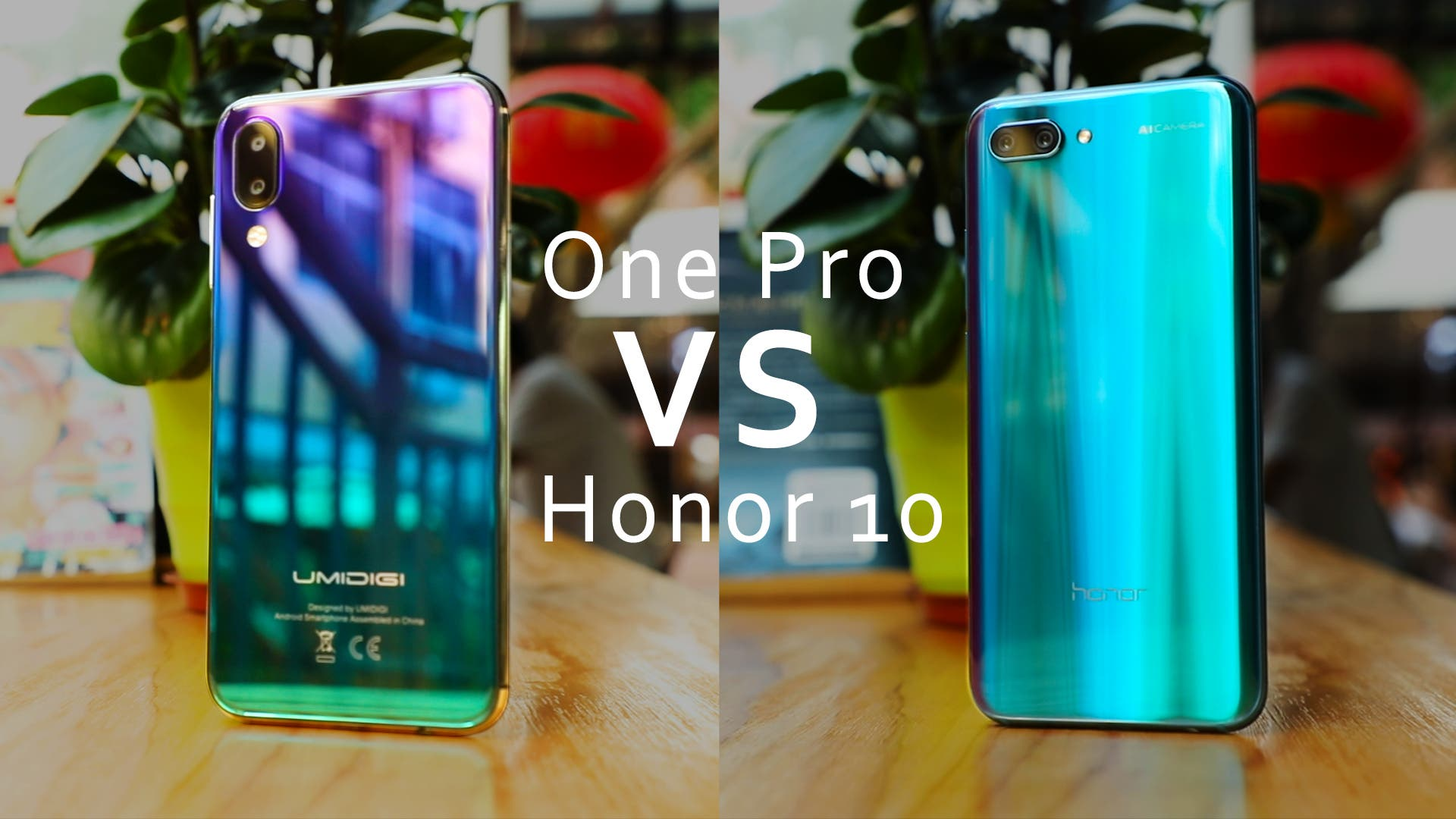 UMIDIGI One Pro VS Honor 10