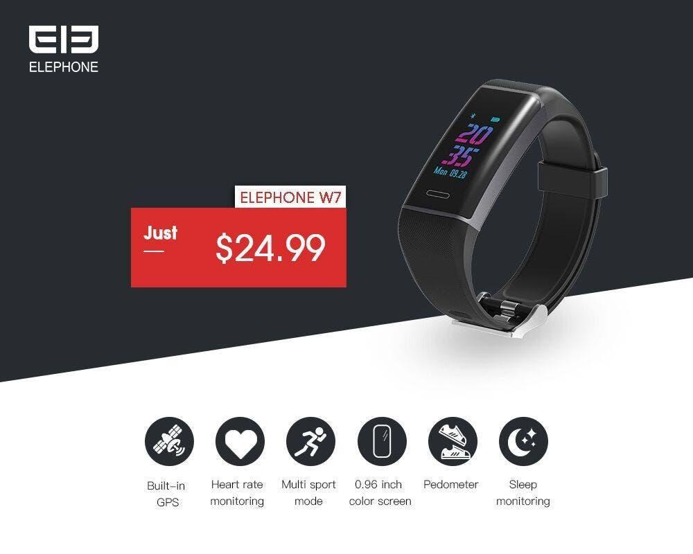 Elephone W7 smart band