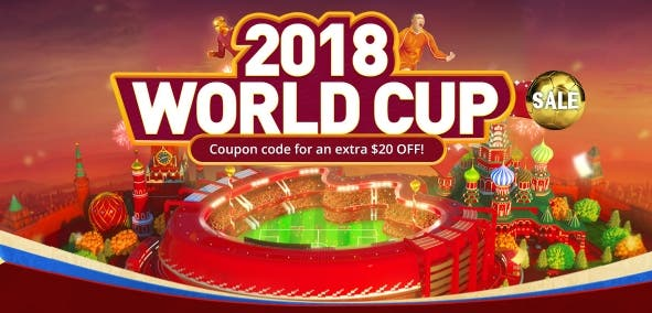 Geekbuying's World Cup