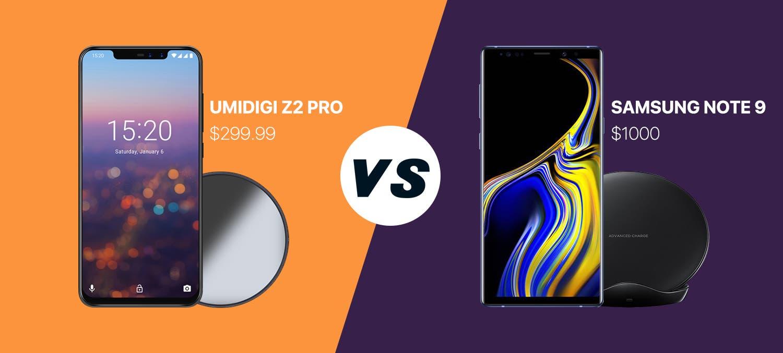 UMIDIGI Z2 Pro vs Samsung Note 9