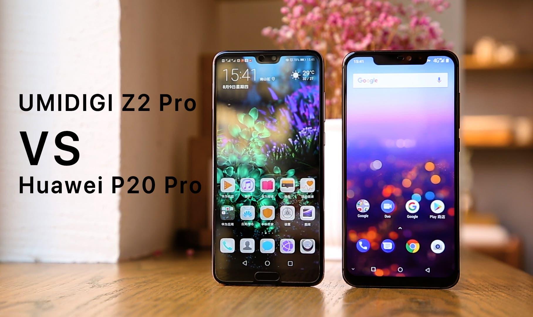 UMIDIGI Z2 Pro vs Huawei P20 Pro