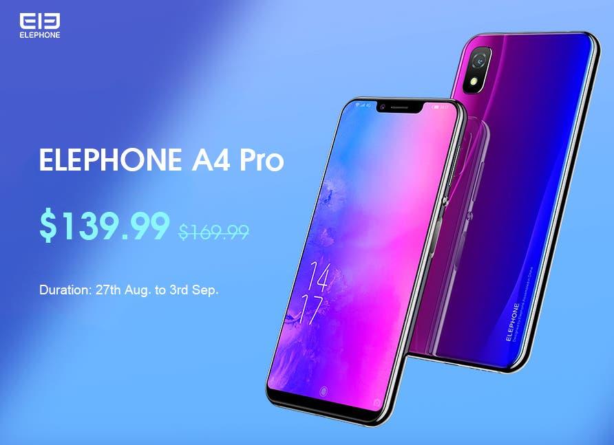 Elephone A4 Pro