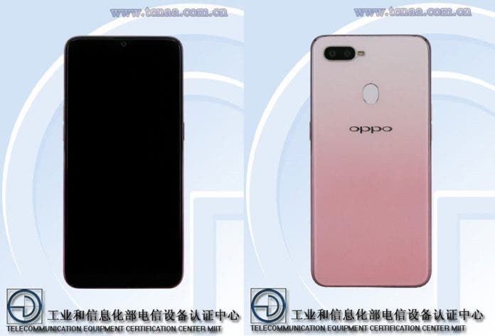 oppo f9 pink tenna listing