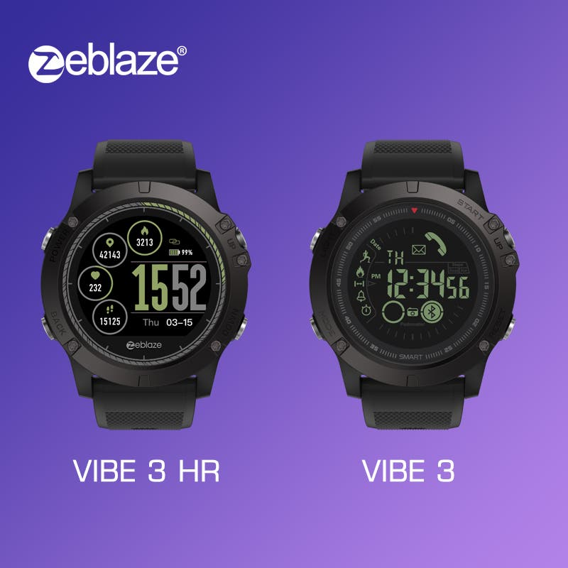 Zeblaze Vibe 3 vs Zeblaze Vibe 3 HR