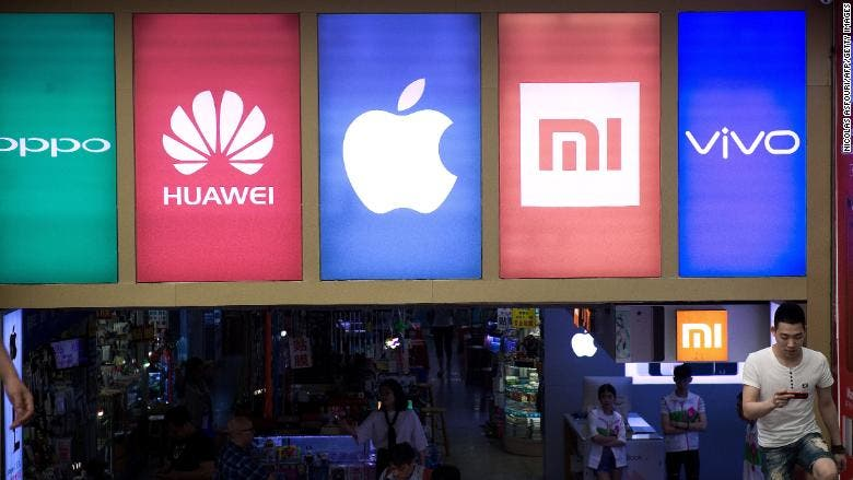 China's smartphone