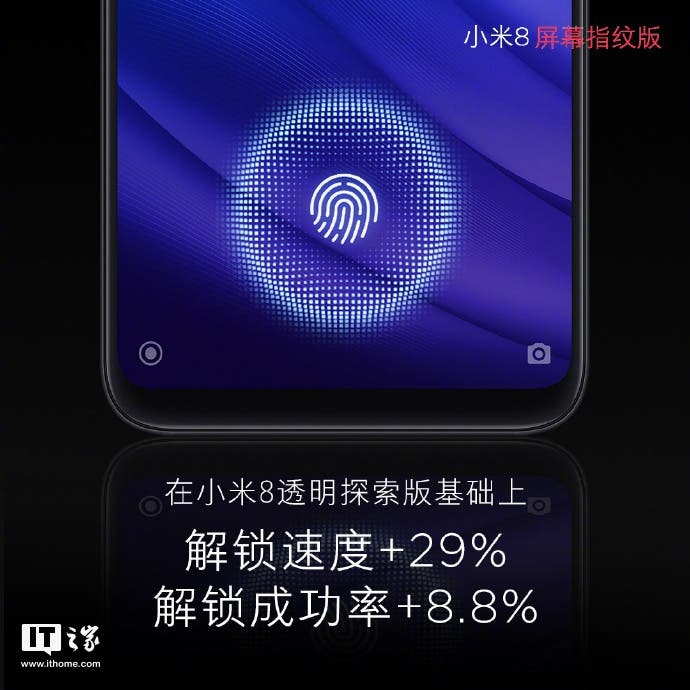 Xiaomi Mi 8 Screen Fingerprint Version
