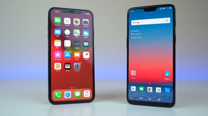 Apple iPhone X Max vs OnePlus 6 A12