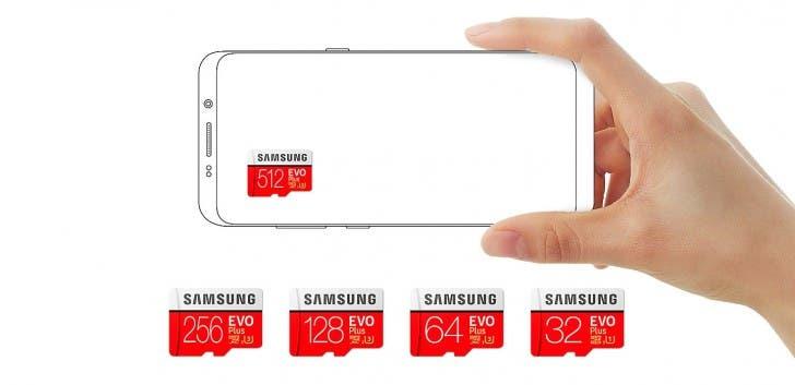 Samsung 512GB EVO Plus microSD Card