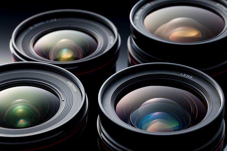 lens pixel size