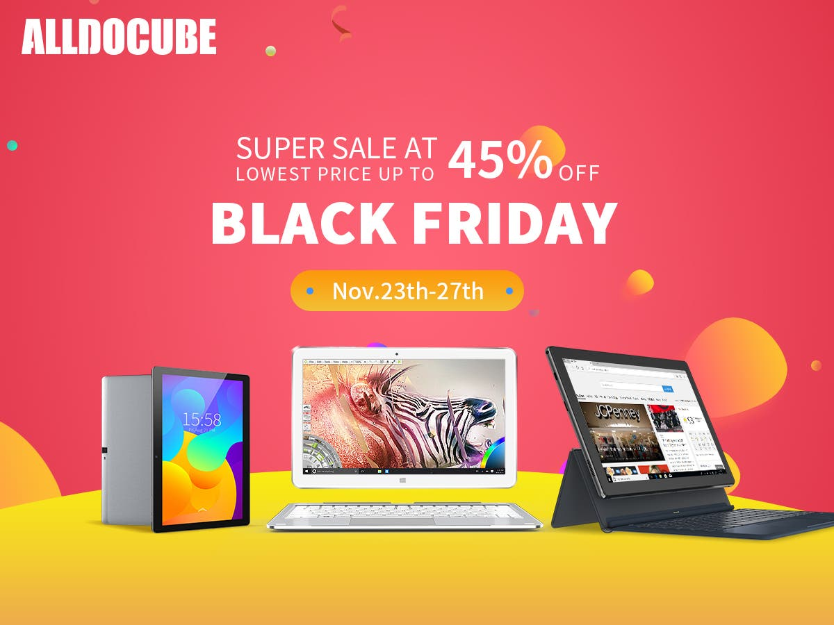 alldocube Black Friday