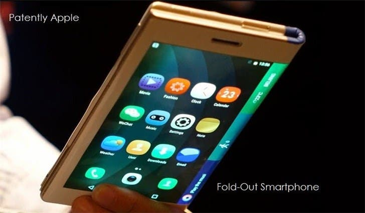 5G foldable smartphone