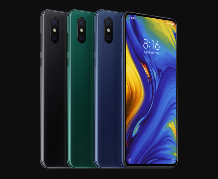 Xiaomi Mi MIX 3 and Black SHark Helo
