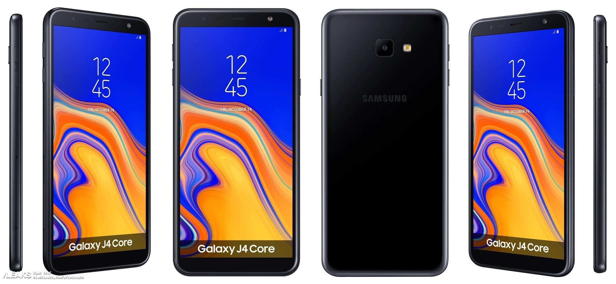 Samsung Galaxy J4 Core Android Go Phone Leaked Online