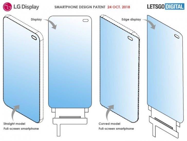 LG Under Display Camera