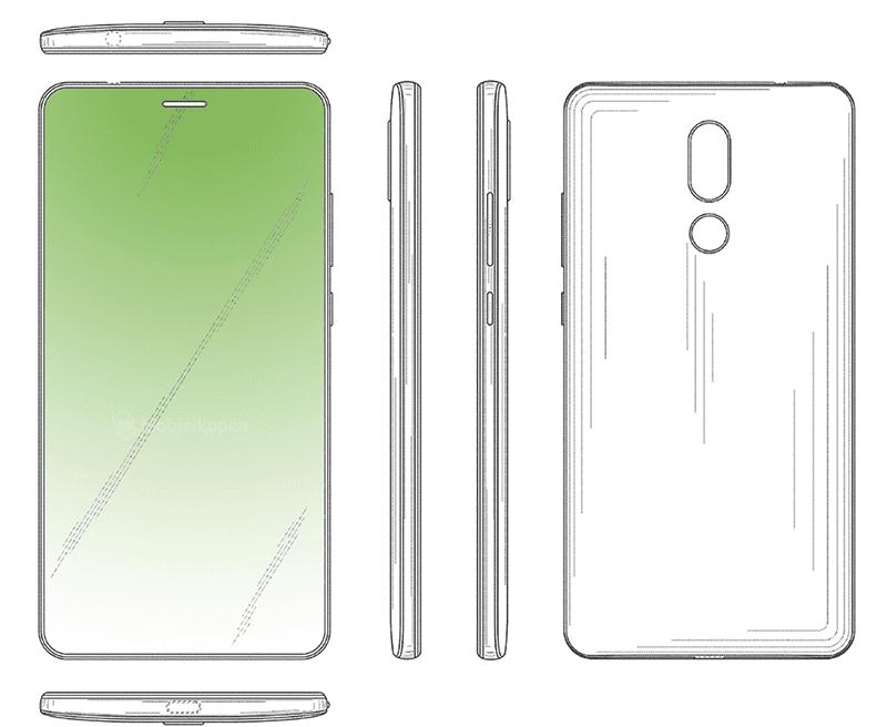 Huawei full screen hole