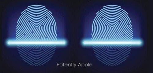 Apple on-screen fingerprint recognition
